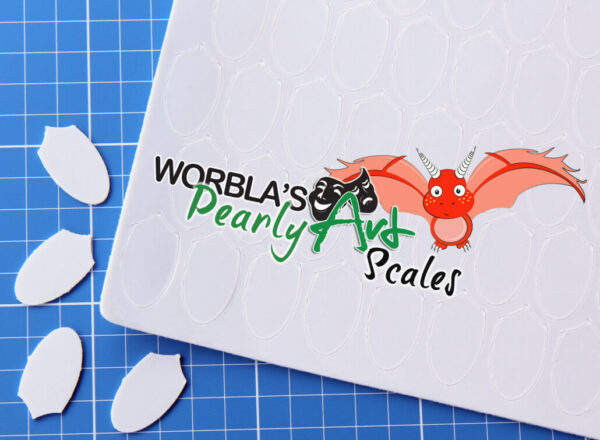 Worbla Pearly Art Scales product image 1
