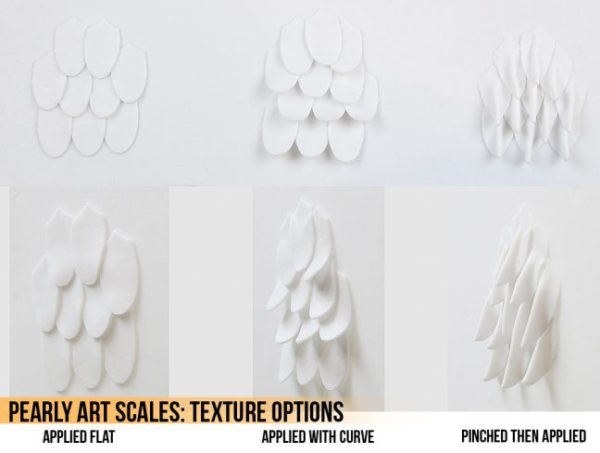 Worbla Pearly Art Scales product image 3